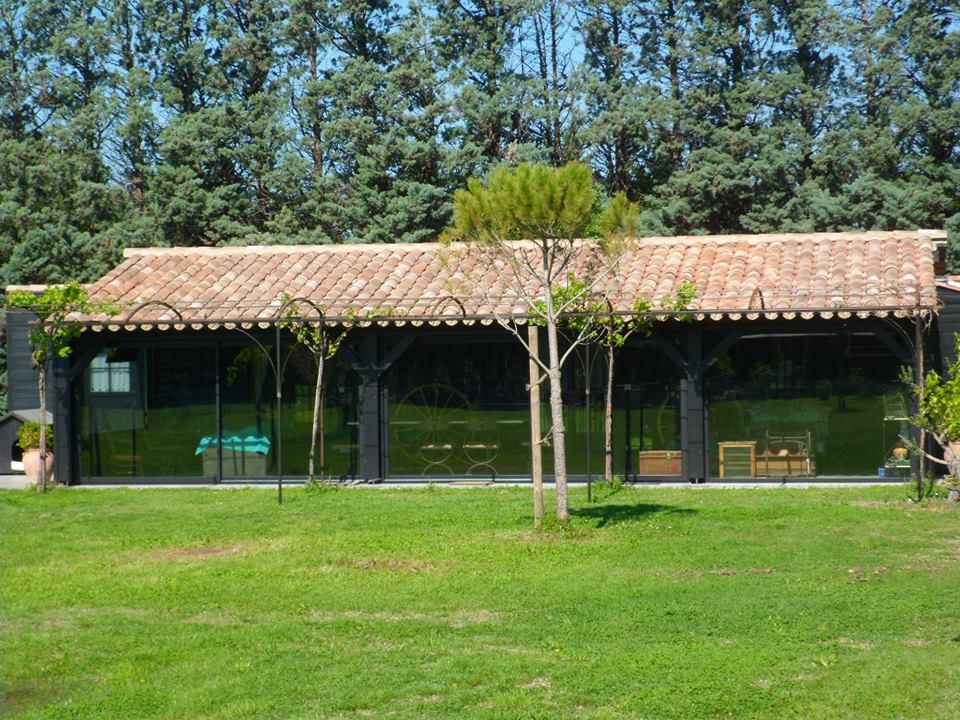 Terrasse couverte à Cavaillon - Vossier Charpentes